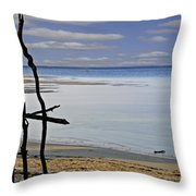Branches 3 Throw Pillow