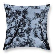 Branches Across Throw Pillow