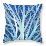 Branches By Jrr Throw Pillow