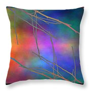 Branches In The Mist 15 Throw Pillow