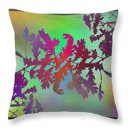 Branches In The Mist 25 Throw Pillow