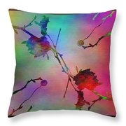 Branches In The Mist 26 Throw Pillow