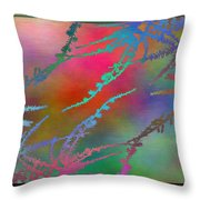 Branches In The Mist 28 Throw Pillow