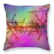 Branches In The Mist 36 Throw Pillow