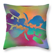 Branches In The Mist 37 Throw Pillow