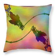 Branches In The Mist 44 Throw Pillow
