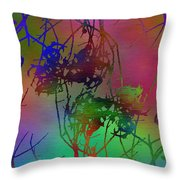 Branches In The Mist 47 Throw Pillow