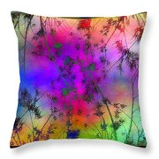 Branches In The Mist 5 Throw Pillow