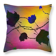 Branches In The Mist 71 Throw Pillow
