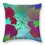 Branches In The Mist 72 Throw Pillow