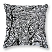 Branches Of Our Life Throw Pillow