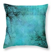 Branches Throw Pillow by Priska Wettstein