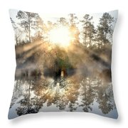 Brand New Day Throw Pillow