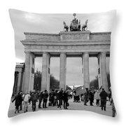 Brandenburger Tor - Berlin Throw Pillow