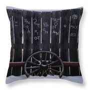 Brands On The Wall Throw Pillow