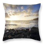 Brandy Bay  Throw Pillow by Matthew Gibson