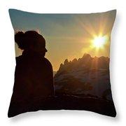Brandywine Mountain Throw Pillow