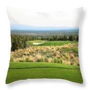 Brasada Canyons Hole #17 Throw Pillow