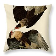 Brasilian Caracara Eagle Throw Pillow