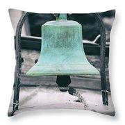 Brass Cast Throw Pillow