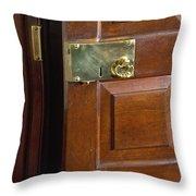 Brass Throw Pillow