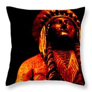 Brave And Proud Throw Pillow