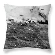 Brave Men Throw Pillow