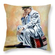 Break For Smoking - Apeadero Para Fumar Throw Pillow