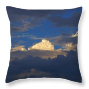 Break In The Clouds Throw Pillow