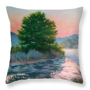 Break Of Day Throw Pillow