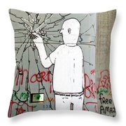 Breakable Throw Pillow