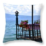 Breakfast For Two Throw Pillow