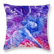 Unstoppable  Breaking Free II Throw Pillow