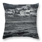 Breaking Sun Throw Pillow