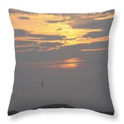 Breaking Through Throw Pillow