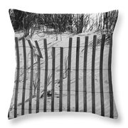 Breath And Wind Throw Pillow