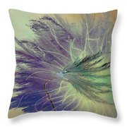 Breath In Wings  Throw Pillow