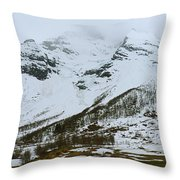 Breath Of Norse Gods Throw Pillow