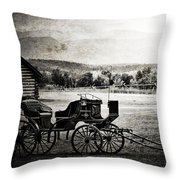 Breath Of Old  Throw Pillow