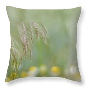 Breath Of Summer Throw Pillow