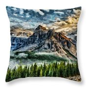 Breathe It In Throw Pillow