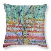 Breathe - Tree Of Life 4 Throw Pillow