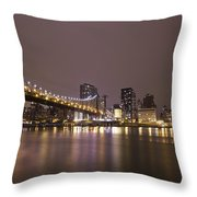 Breathing The Night Away Throw Pillow
