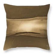 Breathing Wall Beige Version Throw Pillow
