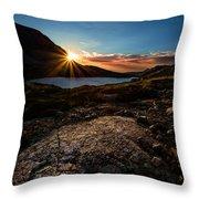 Breathless Sunrise II Throw Pillow