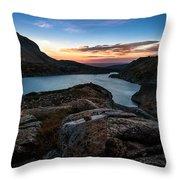 Breathless Sunrise Throw Pillow