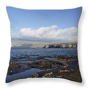 Breathtaking Egas Port Throw Pillow