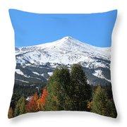 Breckenridge Colorado Throw Pillow