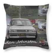 Bredan Johnston Throw Pillow