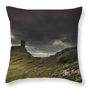 Brentor Church Dartmoor Devon Uk Throw Pillow